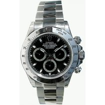 Rolex Daytona 116520 Stainless Steel Black Face Perfect Mint...