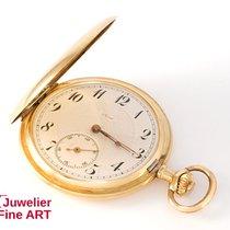 LORD 3-Deckel Taschenuhr aus 585er Gelbgold - Handaufzug - 51,5