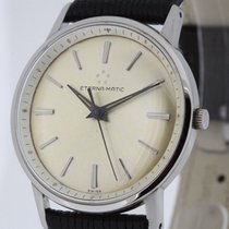 Eterna-Matic Stainless Steel Vintage Automatic Watch Cal. 1412...