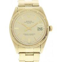ロレックス (Rolex) Men's Rolex Oyster Perpetual Date 18k YG 1500