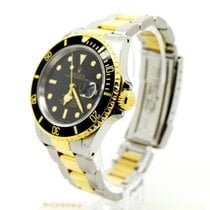Rolex Submariner 16613 Black Kit with Box & Papers