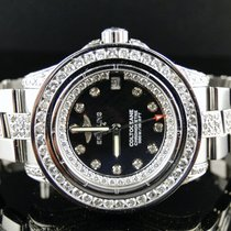 Breitling Ladies Breitling Aeromarine White Colt Ocean Diamond...