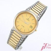 Omega DeVille Ø 32 mm - Stahl - vergoldet - Quarz - 50,7 g -