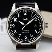 IWC IW327001 Mark XVIII Black Dial SS UNWORN (25981)