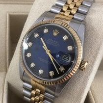 Rolex Oyster Datejust Jubilee Gold Steel Diamond Dial 36 mm...
