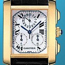 "Cartier ""Tank Francaise Chronograph"" Strapwatch."