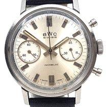 BWC-Swiss Chronograph Landeron 248 cal  - Box & inhouse...