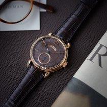 Voutilainen Vingt-8 | Cal. 28 | full set | brown dial | rose gold