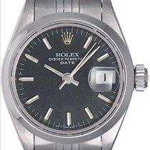 ロレックス (Rolex) Ladies Date Stainless Steel Watch 69160