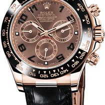 Rolex Daytona Everose Gold - Leather Strap