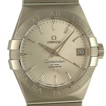 Omega Constellation Co-Axial Stahl Automatik 38mm Box&Pap....