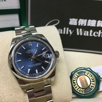 Rolex Cally - 178240 31mm Datejust Blue Stick Dial [NEW]