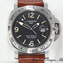 Panerai Luminor GMT PAM00023 Stahl Automatik