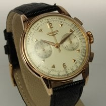 Longines Flyback Chronograph Kal. 30CH in 18K Roségold von 1958
