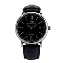 IWC Portofino Automatic Black Dial New B&P