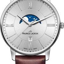 Maurice Lacroix Eliros MOONPHASE EL1108-SS001-110-1 Herrenarmb...