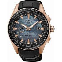 Seiko Herrenuhr Astron GPS Solaruhr World Time Novak Djokovic...