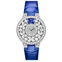 Graf Classic Butterfly White Gold Diamonds Watch