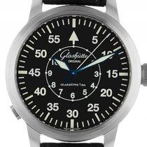 Glashütte Original Senator Navigator Stahl Automatik Armband...