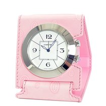 Cartier Pasha Alarm Travel Clock Pink W0100072