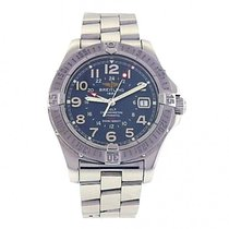 Breitling Colt GMT Stainless Steel Blue Dial Automatic...