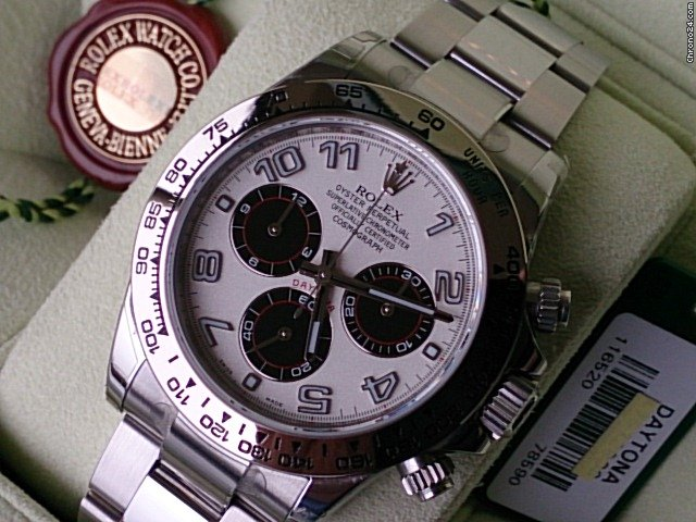 rolex daytona ref 116520 116509 neu panda dial b p wg. Black Bedroom Furniture Sets. Home Design Ideas