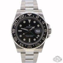 Rolex GMT Master ii   Stainless Steel Ceramic Bezel   116710LN
