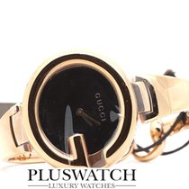 Guccissima Ya134305 Rose Gold Pvd Quartz Ladies Watch