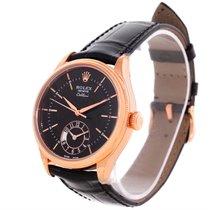 Rolex Cellini Dual Time Everose 18k Rose Gold Automatic Watch...
