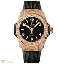 Χίμπλοτ (Hublot) Big Bang 39mm One Click King Gold Pave Watch