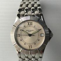 Patek Philippe Neptune SS Integral bracelet and silver oyster...