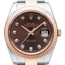 롤렉스 (Rolex) Datejust 41 Ref. 126331 Edelstahl Everose-Gold...