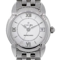 Concord Impresario Stainless Steel  Roman Dial Ladies Watch
