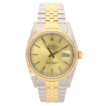 Rolex Datejust 16233 – Gents Watch – Champagne Dial - 1989