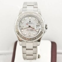 Rolex Yacht-Master 35mm 168622 Platinum Bezel Box & Booklets