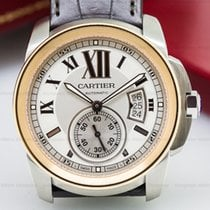 Cartier W7100039 Calibre de Cartier SS / 18K Rose Gold (26183)