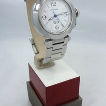 Cartier Pasha C Automatic 35mm Stainless Steel Mint Condition...