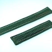 Breitling Band 18mm Green Shark Strap Correa B18-23