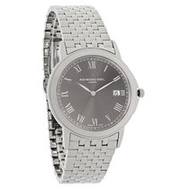 Raymond Weil Tradition Mens Charcoal Dial Swiss Watch 5466-ST-...