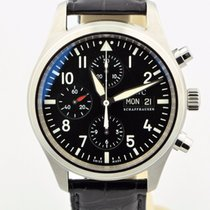 IWC Pilot's Watch Fliegeruhr Chronograph Day/date Black...