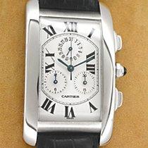 "Cartier ""Tank Americaine"" Chronograph."