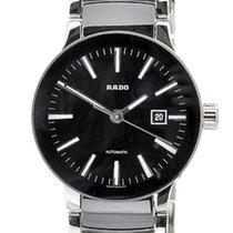 雷达 (Rado) Centrix Automatic Steel & Black Ceramic 28mm...