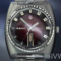 Rado Conway Mens Vintage Swiss Day Date Automatic Rare Watch...