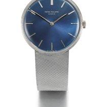 Patek Philippe | A White Gold Bracelet Watch Ref 3468/5 Mvt...