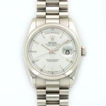 Rolex Platinum Day-Date Ice Blue Watch Ref. 118206