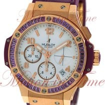 "Hublot Big Bang 41mm Tutti Frutti ""Purple"", White Dial..."