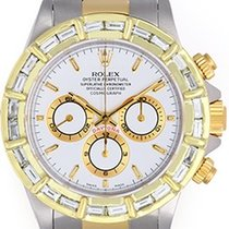 Rolex Daytona Men's 2-Tone Diamond Watch 16523