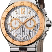 Bulgari Diagono Chronograph Calibre 303 42mm dg42c6spgldch