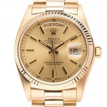 Rolex Day Date Gelbgold Automatik Armband Präsident 36mm...