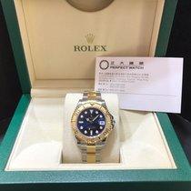 勞力士 (Rolex) 168623BL Yacht Master 35mm Blue Dial